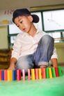 学前教育0025,学前教育,儿童教育,儿童 帽子 七巧板