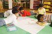 学前教育0040,学前教育,儿童教育,木架 地面 幼儿园孩子