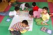 学前教育0052,学前教育,儿童教育,美术课 彩色地板 一起画画