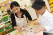 学前教育0055,学前教育,儿童教育,女老师 一个学生 小圆桌