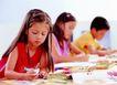 儿童表情0139,儿童表情,儿童教育,学习 认真 教堂