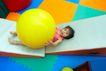 儿童启蒙0025,儿童启蒙,儿童教育,皮球 孩子 玩耍
