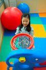 儿童启蒙0026,儿童启蒙,儿童教育,汽球 游乐园 篮框