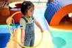 儿童启蒙0052,儿童启蒙,儿童教育,玩耍 背带裤 呼啦圈