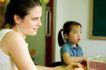 儿童启蒙0063,儿童启蒙,儿童教育,妈妈 年轻 女儿