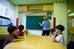 儿童启蒙0069,儿童启蒙,儿童教育,黑板 幼师 字母