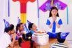 儿童游戏0006,儿童游戏,儿童教育,祈祷 心愿 尖角帽 祝福 装饰