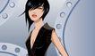 时尚女性0034,时尚女性,标题插画,时尚女性 青春 短发