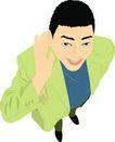 上班一族0202,上班一族,标题插画,黑发