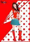 上班族0061,上班族,标题插画,时尚 杂志 封面