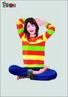 上班族0062,上班族,标题插画,青春 少女 清纯