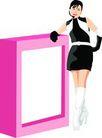 上班族情趣0227,上班族情趣,标题插画,时尚装扮