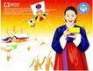 上班族情趣0231,上班族情趣,标题插画,朝鲜服饰 风筝