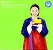 上班族情趣0236,上班族情趣,标题插画,黄色卡片