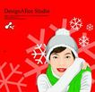 上班族情趣0250,上班族情趣,标题插画,寒冷 雪花 冬季