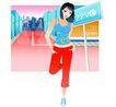 上班族情趣0252,上班族情趣,标题插画,