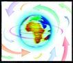 全球视野0103,全球视野,未来科技,箭头 旋转 地球