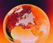 全球视野0104,全球视野,未来科技,地球西半球 黄色 经纬线