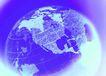 全球视野0107,全球视野,未来科技,一个地球 蓝色调 经纬线