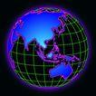 全球视野0113,全球视野,未来科技,经纬线 交叉 大陆