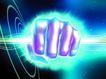 数码之手0035,数码之手,未来科技,模型 拳头 外发光