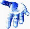 数码之手0066,数码之手,未来科技,手心 手纹 数码