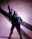 影视制作0073,影视制作,未来科技,胶片 战士 背影