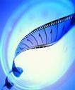 影视制作0074,影视制作,未来科技,胶带 旋转 拍片