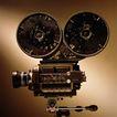 影视制作0079,影视制作,未来科技,黑白 老电影 放送