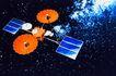 卫星通讯0071,卫星通讯,未来科技,太空 卫星 联络