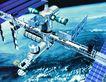 卫星通讯0079,卫星通讯,未来科技,空间站 人类 探索