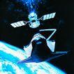 卫星通讯0088,卫星通讯,未来科技,展示 图画 时代