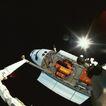 卫星通讯0090,卫星通讯,未来科技,光线 机器 运行