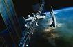 卫星通讯0102,卫星通讯,未来科技,航天飞机 空间站 地球