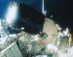 卫星通讯0103,卫星通讯,未来科技,星球上 空间站 宇航员