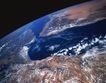 卫星通讯0108,卫星通讯,未来科技,地球 黑太空 蓝色海水