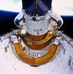 卫星通讯0109,卫星通讯,未来科技,USA字样 圆筒状 火箭飞船