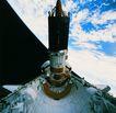 卫星通讯0110,卫星通讯,未来科技,星球上空 空间站 飞船