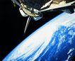 卫星通讯0113,卫星通讯,未来科技,环绕 圆形 飞船