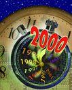 企业网路0011,企业网路,未来科技,新千年 年度表 时光 数字 概念