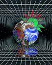 企业网路0012,企业网路,未来科技,科幻 倒影 宿略图 立体 空间
