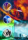 网路商机0007,网路商机,未来科技,高楼 居民房 街道 百姓 社会