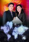 网路商机0016,网路商机,未来科技,男女 情侣 图形 世界 科技未来