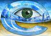 网路商机0033,网路商机,未来科技,眼睛 字母 眼睛