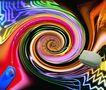 创新资讯0055,创新资讯,未来科技,创新科技 彩色漩涡 鼠标