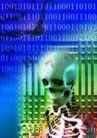 网际网络0006,网际网络,未来科技,头骨 人类结构 骨骼 胸架 恐惧