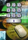 网际网络0009,网际网络,未来科技,信息化 数字化 白色鼠标 拨号 密码