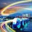 网际网络0025,网际网络,未来科技,建筑 城市 网络