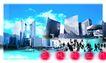 网际网络0029,网际网络,未来科技,城市 建筑 高楼