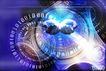 网际网络0034,网际网络,未来科技,合成图 圆形 二进制
